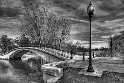 Photograph - Winter's Bridge by Rodney Campbell