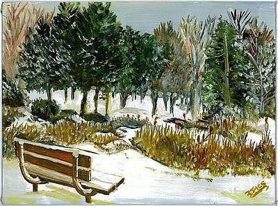 Painting - Winter's Invitation by Richard Jules