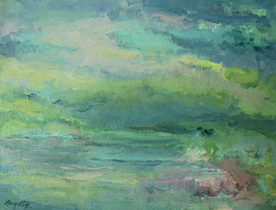 Painting - With A Whisper by Mary Wolf
