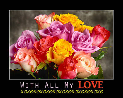 Photograph - With All My Love by James BO Insogna