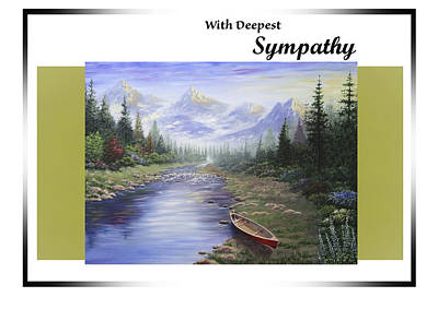 Painting - With Deepest Sympathy by Saeed Hojjati
