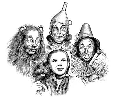 Digital Art Rights Managed Images - Wizard of Oz Royalty-Free Image by Greg Joens
