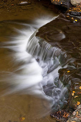 Photograph - Wolf Creek At Letchworth State Park by Jim Vallee