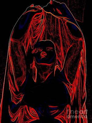 Digital Art - Woman Of Mystery by Ed Weidman