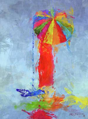 Women In Color 2 Art Print
