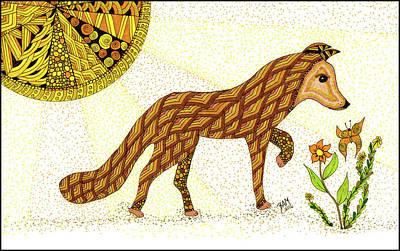 Drawing - Wonder by Barbara McConoughey