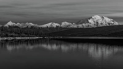 Photograph - Wonder Lake Denali National Park by Brenda Jacobs