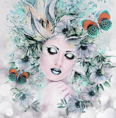 Erotica Mixed Media - Wondrous Beauty by G Berry