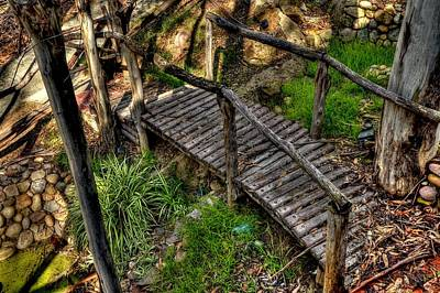 Photograph - Wood Bridge by Craig Incardone