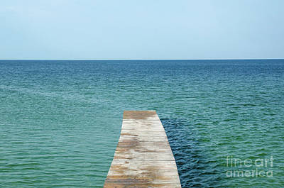 Photograph - Wooden Bath Pier by Kennerth and Birgitta Kullman