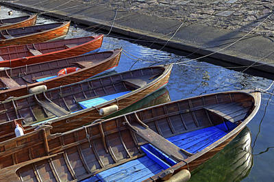 Wooden Boats Art Print by Joana Kruse