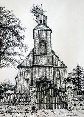 Wooden Church 2 Art Print