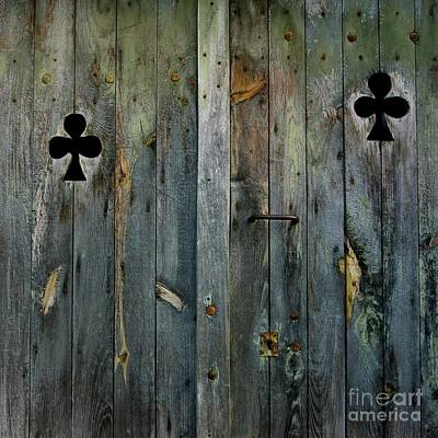 Entryway Photograph - Wooden Door by Bernard Jaubert