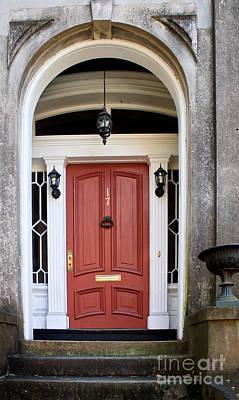 Wooden Door Savannah Art Print