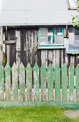 Country Store Photograph - Wooden Shed by Tom Gowanlock