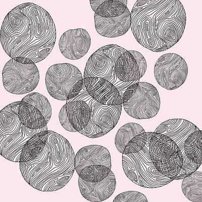 Woodprint Pattern Art Print
