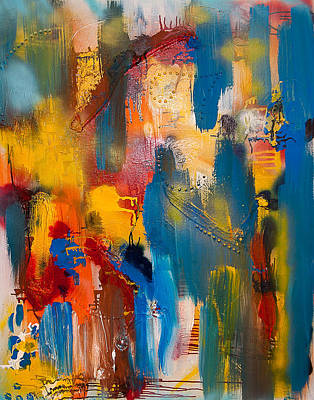 Painting - World Electricity by Artista Elisabet