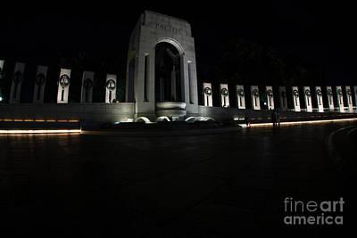Photograph - World War 2 Memorial by David Bearden