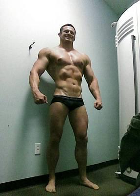 Photograph - Wrestler by Jake Hartz