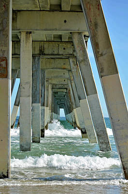 Photograph - Wrightsville Beach Fishing Pier by Sandi OReilly