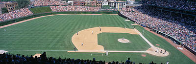 Astro Photograph - Wrigley Field, Chicago, Cubs V by Panoramic Images