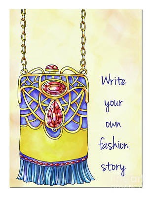 Vale Mixed Media - Write Your Own Fashion Story by Pam Vale