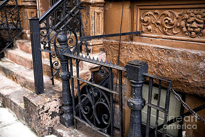 Photograph - Wrought Iron In The Village by John Rizzuto