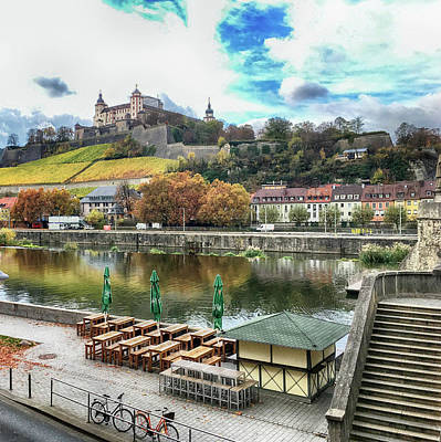 Digital Art - Wurzburg, Bavaria, Germany by Jim Pavelle