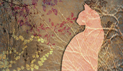 Digital Art - Wuthering Heights, Late Autumn by Nancy Lorene