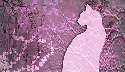 Digital Art - Wuthering Heights, Rose Chic by Nancy Lorene