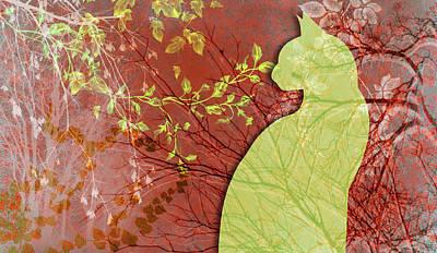 Digital Art - Wuthering Heights, Tomato by Nancy Lorene