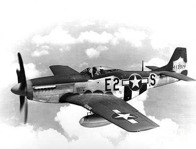 Wwii, North American P-51 Mustang, 1940s Art Print by Science Source