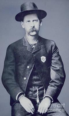 Old West Saloon Photograph - Wyatt Earp by American School