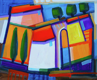 Painting - Primorski Pejsaz 50x60 Cm by Saso  Petrosevski Novak - SPN