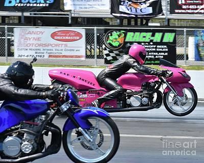 Photograph - Xda Drag Racing 30 by Jack Norton