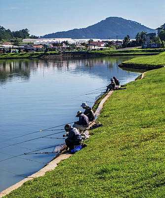 Photograph - Xuan Huong Lake by Tran Minh Quan