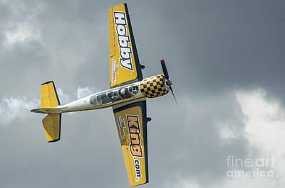 Photograph - Yak 52 G-bxjb by Simon Pocklington