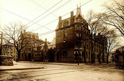 Photograph - Yale Divinity School C1907 by L O C