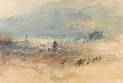 Painting - Yarmouth Sands by Joseph Mallord William Turner