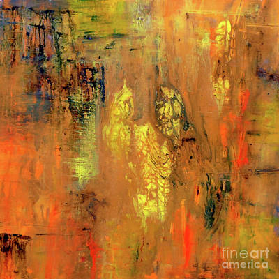Painting - Yellow II by Jane Biven