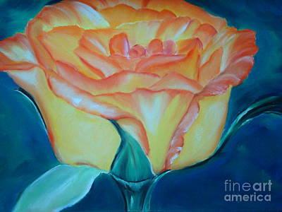 Pastel - Yellow Rose by Melinda Etzold
