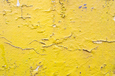 Messy Photograph - Yellow Wall by Tom Gowanlock