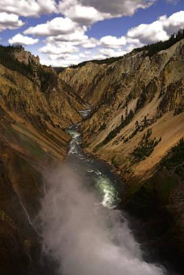 Yellowstone Grand Canyon Art Print by Patrick  Flynn