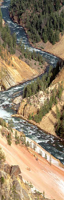 State Of Montana Photograph - Yellowstone River, Yellowstone National by Panoramic Images