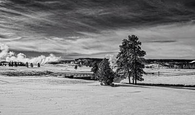 Photograph - Yellowstone Winter Vista by L O C