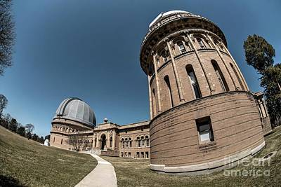 Photograph - Yerkes Observatory - 2 by David Bearden