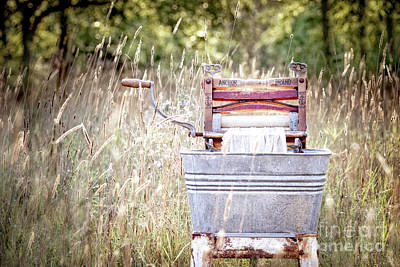 Photograph - Yesterday's Laundry No. 1 by Angie Rea