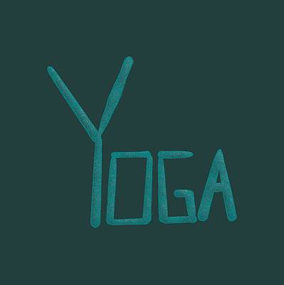 Drawing - Yoga by Bill Owen