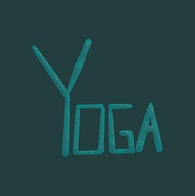 Drawing - Yoga by Bill Owen