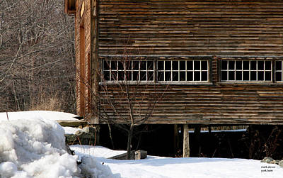 Photograph - York Barn by Mark Alesse